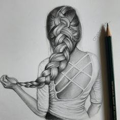Find images and videos about girls, art and clothes on We Heart It - the app to get lost in what you love. Girly Drawings, Abstract Pencil Drawings, Disney Art Drawings, Sketches, Girly Art, Drawing Sketches, Art, Hair Sketch, Art Drawings Beautiful
