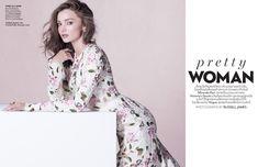 Miranda Kerr stars in Vogue Thailand Magazine December 2015 issue Photoshoot