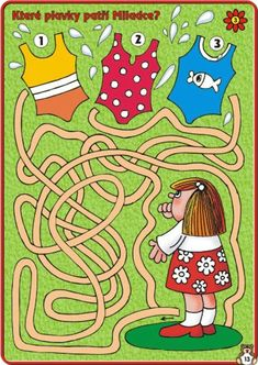 Mazes For Kids, Art For Kids, Summer Worksheets, Maze Puzzles, Pre Writing, Word Games, Stories For Kids, Fine Motor Skills, Toddler Activities