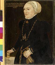 ab. 1550 Hans Schöpfer the Elder - Elisabeth Gräfin von Fürstenberg