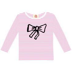 Bow / kids long sleeve t-shirt