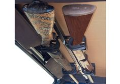 Jeep Accessory - Great Day Jeep Wrangler Quick Draw Overhead Gun Rack, for when me and Justin go hunting :)