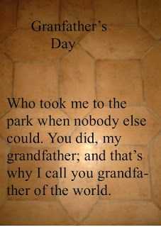 Ecards and Greeting Cards: Grandfather's Day