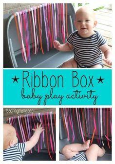 Un jeu très facile à réaliser pour captiver bébé