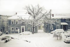 Snowmagedoon in Cambridge, MA - Winter, 2011. (photo by Anastassiya Lukyanova)