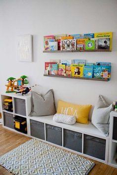 30 Trendy Kids Room Ideas For Boys Toddler Bedrooms Car Themes - Kinderzimmer Boy Toddler Bedroom, Toddler Rooms, Kids Bedroom Boys, Children Playroom, Toddler Playroom, Childrens Bedroom, Child Room, Bedroom Decor Kids, Boys Bedroom Ideas Toddler Small