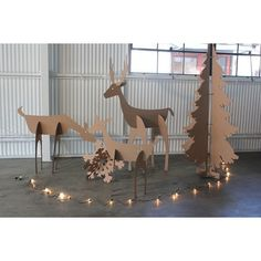 (1) April and May| Christmas paper decoration | | CHRISTMAS | |... ❤ liked on Polyvore featuring home, home decor and christmas home decor