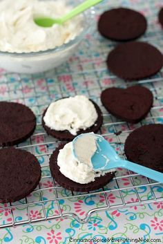 Homemade Double Stuf Oreos: Baking Partners by Cinnamon Spice & Everything Nice