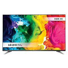 """Buy LG 43UH750V LED HDR 4K Ultra HD Smart TV, 43"""" With Freeview HD/freesat HD & Eiffel Stand Online at johnlewis.com"""