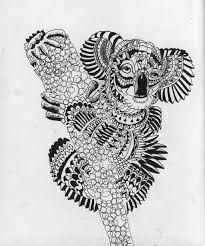 Image result for zentangles animals