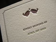 West Hills Letterpress Reply - Closeup by dolcepress, via Flickr