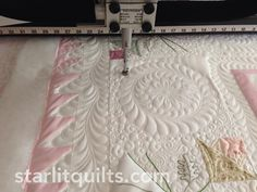 Beautiful quilting by Starlitquilts of Bonney Lake, WA.