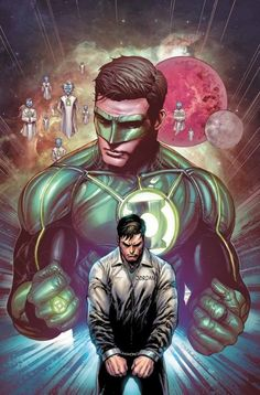 ​DC Comics is releasing a massive Blackest Night/Brightest Day set, it will include 12 books and a ring set check out the details below. Blackest Night Brightest Day Box Set Two of DC's most famous. Heros Comics, Dc Comics Superheroes, Arte Dc Comics, Dc Comics Characters, Dc Heroes, Marvel Comics, Green Lantern Hal Jordan, Green Lantern Corps, Red Lantern