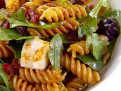 "Fusilli with Sun-Dried Tomato Vinaigrette (Lunch with Mom) - Giada De Laurentiis,"" Giada At Home"" on the Food Network."