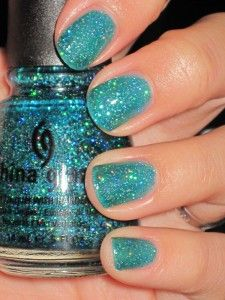 """China Glaze-Atlantis (not sure if this should go to """"nails"""" or """"want)"""