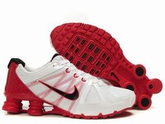 reputable site 8be53 72f76 Shox Nike Shox Agent White Red Black Shoes  Nike Shox Agent - This Nike Shox  Agent White Red Black Shoe features white mesh and synthetic upper with red  ...