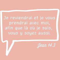 Jean 14: 3