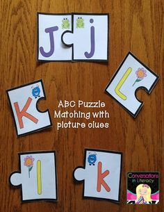 ABC Puzzle Letters & other fun ABC Activities!!