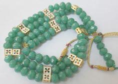 Handmade Green Onyx Multi String Necklace / by ArmCandyForYou, $62.00