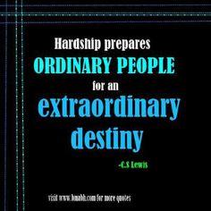 ExtraOrdinary  destiny