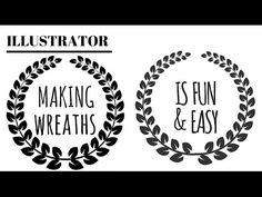 Draw Wreaths in Illustrator Two Ways - Paired and Alternating Leaves See how to easily draw wreaths in Illustrator. You will learn to make two styles of wrea...