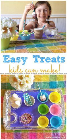 Easy Treats Kids Can Make