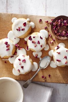 Camomile & Rose Babycakes   Food Photography: ...