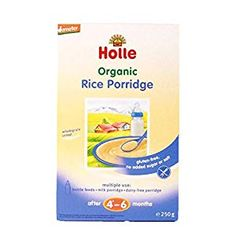 Baby Cereal Archives - Honabuy Baby Cereal, Rice Cereal, Rice Porridge, Dairy Free, No Dairy, Rice Krispies