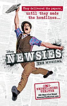 Post image for Broadway Theater Review: NEWSIES (Nederlander Theatre, NYC)...great show with the family!