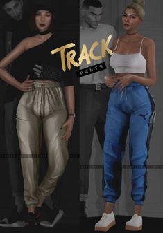 TRACK PANTS v.1 for The Sims 4 by Slay-classy