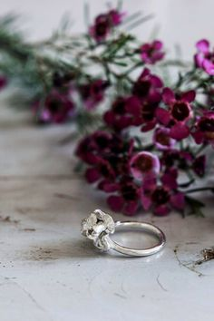 Iris flower ring - sterling silver ring - proposal ring - promise ring - nature jewelry - romantic jewelry, floral jewelry, handcrafted ring by TheManerovs on Etsy https://www.etsy.com/listing/230343459/iris-flower-ring-sterling-silver-ring