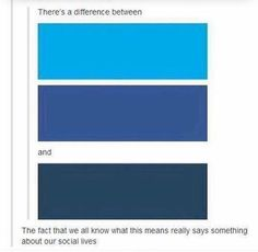 Lowkey thought it was different shades of blue and then I looked in different comments for this post