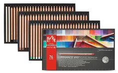Amazon.com : Luminance 6901 Clr Pncl Set 76 Artist Rng : Office Products
