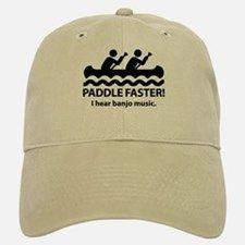 Paddle Faster I Hear Banjo Music Hat for