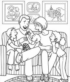 """Top 15 Family Coloring Pages for Kids to Talk """"About Me"""" - Coloring Pages Family Coloring Pages, Animal Coloring Pages, Printable Coloring Pages, Coloring Pages For Kids, Coloring Sheets, Coloring Books, Free Adult Coloring, Cool Paper Crafts, Kids Class"""