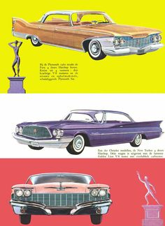 1960 Plymouth, Chrysler and Imperial