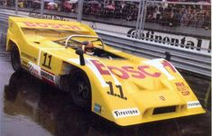 The early 1972 version of the Bosch Porsche 917/10 – it had been Jo Siffert's works CanAm car the year before