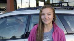 Maria gets the greatest car ever! #acura #courtesyacura #Littleton #Colorado #Subaru #SubaruOutback #2006Subaru #preowned #preownedcars  #carbuying #customertestimonials #happycustomers #firstcar