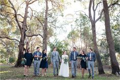 Bridal Party at Fairbridge Village with rustic wildflower bouquets. Photography by Trish Woodford - Mandurah Wedding Photographer Groom Getting Ready, Blue Bridal, Family Photographer, Bride Groom, Wild Flowers, Wedding Photography, Bridesmaid, Bouquets, Party