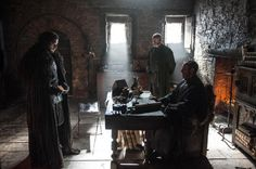 Night's Watch storyline with Stannis and Davos.