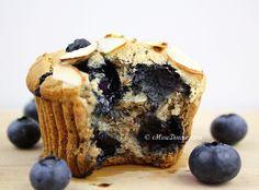 Guilt-Free, vegan Blueberry Lemon Muffins