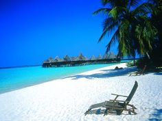 Maldives beach.