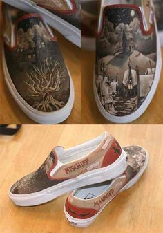 Harry Potter vans...do I even have to say who needs these ?