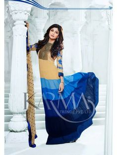 Shilpa Shetty Olive And Blue Long Anarkali With Full Sleeve Check our New Bollywood collection, http://20offers.com/shilpa-shetty-olive-and-blue-long-anarkali-with-full-sleeve-2034912315.html?search=shilpa#.Uz6i-aiSzxA , Available for shipping worldwide,  Buy Bollywood Sarees at lowest price in USA, CANADA, AUSTRALIA, NEW ZEALAND, SINGAPORE, MALYASIA ,UK, NETHERLANDS, FRANCE, JERMANY - Indian Clothing Online!