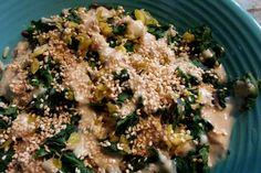 Miso Sesame Kale Bowl-ed Over [Vegan, Raw, Gluten-Free]