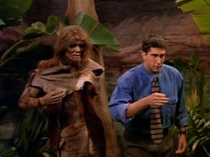 This is the first episode to show Ross at work at the museum. The only friends who have been shown at work before this are Monica (at Iridium) and Rachel (at the coffee-house).