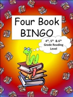 Four Book BINGO (4th, 5th, and 6th grade)- BUNDLE PACK- reading- This packet consist of 29 boards. 18 book specific boards and 11 category boards. -This is a reading activity with a 'connect four' type of twist. Basically, the students read any four books in a row (horizontally, vertically, or diagonal) to complete the game board. $