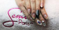 #butterfly #nail #nailsart #semilac #akademiasemilac #spring #art #work
