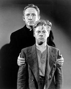 Spencer Tracy & Mickey Rooney