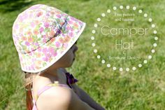 A Jennuine Life: Camper Hat Pattern and Tutorial